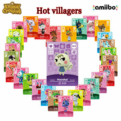 AU8.69 • Buy Series 4 Animal Crossing New Horizons Amiibo Card For NS Switch 3DS Game Card
