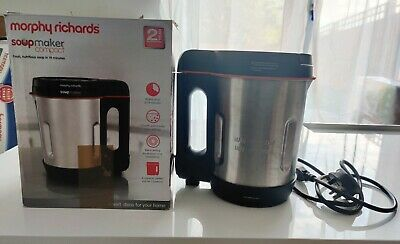 Morphy Richards Compact Soup Maker 501021 Stainless Steel 1 Litre, 900 W • 23£