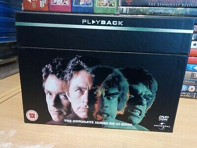 £28.99 • Buy The Incredible Hulk The Ultimate Collection DVD UK Release