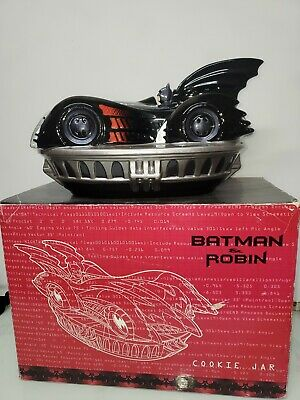 Batman And Robin Batmobile Cookie Jar 1997 (Retired) DC Comics W/ Original Box • 108.47£