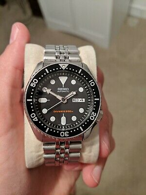 $ CDN550 • Buy Seiko Diver's Automatic Black Dial Stainless Steel Men's Watch SKX007