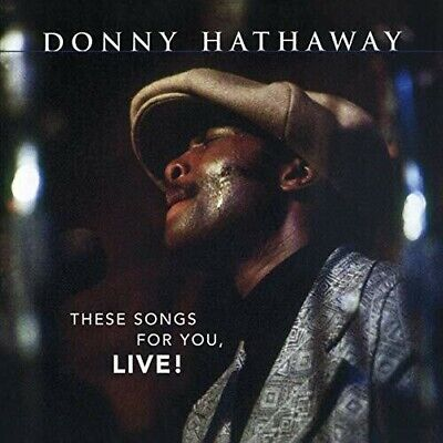 Donny Hathaway These Songs For You Live CD NEW • 12.81£