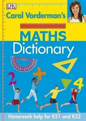 Carol Vorderman's Maths Dictionary (Reissues Education 20 New Hardcover Book • 8.93£
