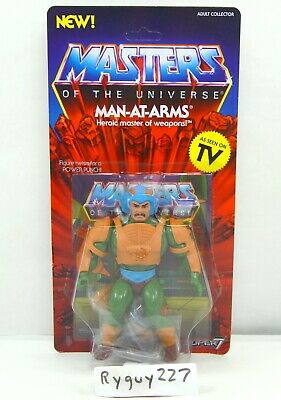 $45 • Buy MOTU, Man-At-Arms, Filmation Style, Masters Of The Universe, Super7, Figure, MOC