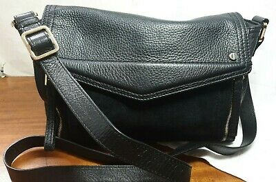 Autograph M&s 100% Soft  Black Leather Shoulder/across Body Bag  • 26£