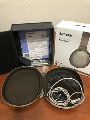 $ CDN39.99 • Buy Oem Box, Carrying Case, Manual, Airplane Adapter & 3.5mm Cable For Sony-1000xm2