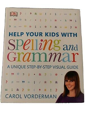 Carol Vorderman 3 Books Collection Set Help Your Kids With Maths, English, Times • 22£