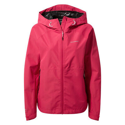 Craghoppers Womens Juno Waterproof Lightweight Jacket Coat • 31.60£