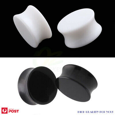 AU7.99 • Buy 1Pair Acrylic Ear Plugs Flared Expander Tunnel Stretcher Body Piercing Jewellery