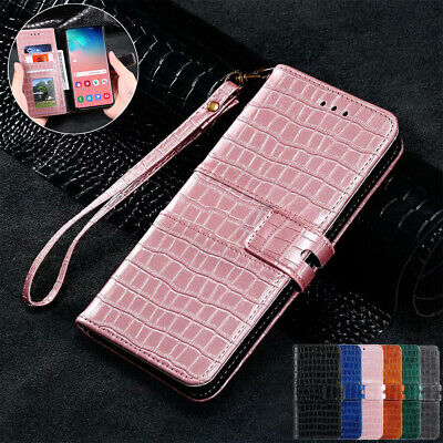 AU14.99 • Buy For Samsung S20 Ultra S10 + S9 S8 Plus Case Leather Wallet Card Slot Flip Cover