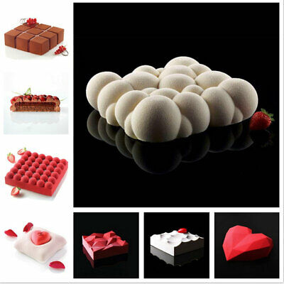 AU12.89 • Buy 3D Silicone Donut Muffin Chocolate Cake Cookie Cupcake Baking Mold Mould Tray