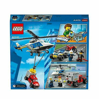 LEGO City Police Helicopter Chase Building Set - 60243 • 24.99£