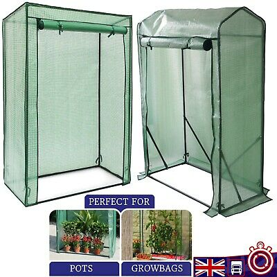 £21.89 • Buy Greenhouse Garden Growbag Cover Tomato Plant Green House Reinforced Flat / Gable