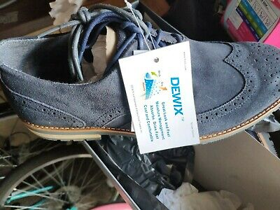 MENS ROCKPORT WING Oxford Navy Suede Brogues UK 9 Brand New In Box Sncl54 • 25£