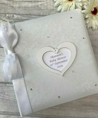 £24.95 • Buy   Personalised Traditional Baby Shower Photo Album Gift 200 6x4 Photos