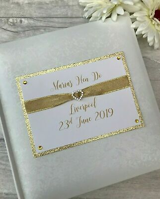 £24.95 • Buy Personalised Traditional Hen Do Glitter Photo Album Gift 200 6x4 Photos