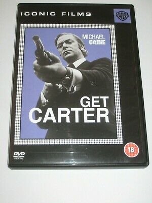 Uk Dvd Get Carter 1971 Michael Caine Mike Hodgers Gangster Crime • 4.99£