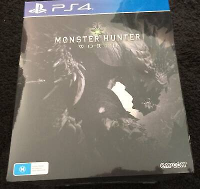 AU440 • Buy Monster Hunter World Collectors Edition PS4 BRAND NEW SEALED