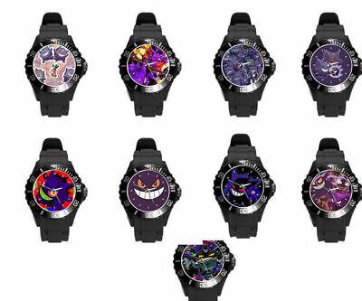 $25 • Buy Pokemon Gastly Cloyster Gengar Color Styles Plastic Soft Rubber Wrist Watch