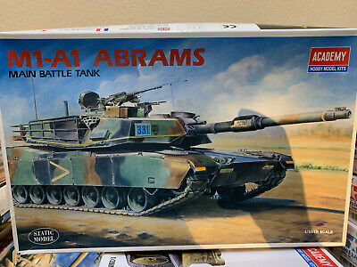 $32.95 • Buy *DISCOUNTED* Academy M1-A1 ABRAMS MAIN BATTLE TANK 1/35 Scale Kit