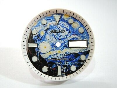 $ CDN65.49 • Buy New Modified Seiko  Starry Night  Dial & Minute Track Will Fit Skx007-009 Divers