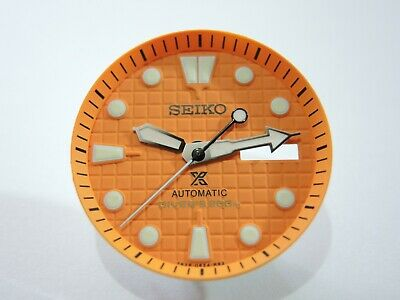 $ CDN60.15 • Buy New Replacement Seiko Prospex Orange Waffle Dial Set Will Fit Skx007-009 Diver's