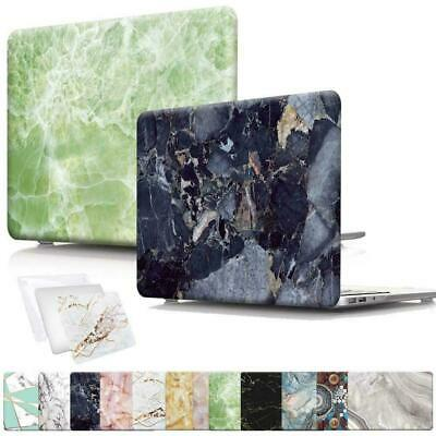 Marble Laptop Shell Case Cover For Apple MacBook Air Pro Retina 11 12 13 15 16 • 10.99£