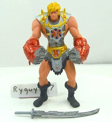 $30 • Buy MOTU, Mega-Punch He-Man, 200x, Figure, Masters Of The Universe, Complete, Gloves
