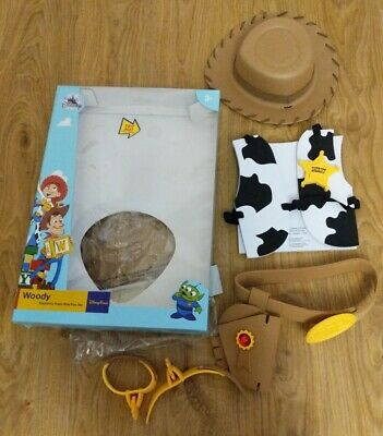 £21.99 • Buy Disney Parks Rare Sheriff Woody Electronic Foam Role Play Set Dressing Up Outfit