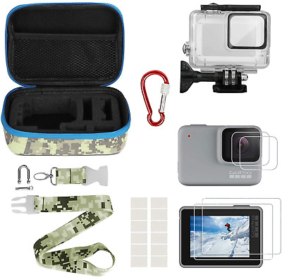 $ CDN35.08 • Buy Kitspeed Accessories Kit For GoPro Hero 7 White/Silver Including Waterproof Case
