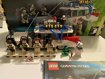 LEGO Ideas Ghostbusters Ecto-1 (21108) Plus Stay Puff And Slimer • 90£