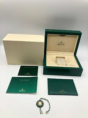 $ CDN197.72 • Buy Rolex Genuine Yacht-Master Watch Box Case 39139.64 Medium Booklet Tag..0830044