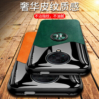AU6.54 • Buy For Xiaomi POCO F2 Pro, Luxury Magnetic Hybrid Acrylic + Leather Soft Case Cover