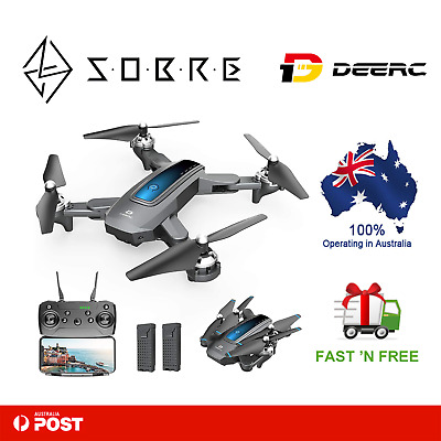 AU99.95 • Buy DEERC D10 Mini Drone For Kids With 720P HD FPV Camera Remote Control 2 Batteries