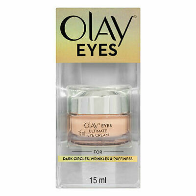 AU26.90 • Buy Olay Eyes Ultimate Eye Cream For Dark Circles, Wrinkles & Puffiness 15ml