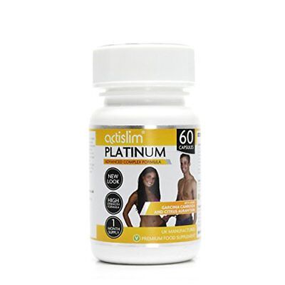 Actislim Platinum The UK's 1 Weight Loss Slimming Pill , Contains Garcinia Cambo • 36.28£