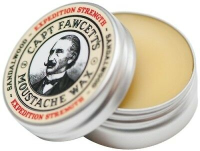 Captain Fawcett 15ml Expedition Strength Moustache Wax • 15.73£