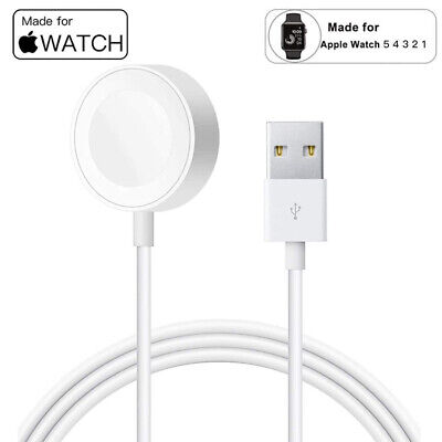 $ CDN16.92 • Buy USB Charger For Apple Watch Series 6/5/4/3/2/1 Magnetic Wireless Cable Charging