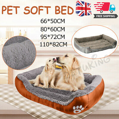 Dog Beds Extra Large Pet Cushion House Waterproof Soft Warm Bed Kennel Blanket  • 18.69£