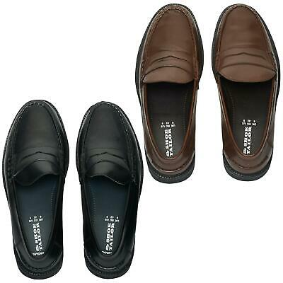 £24.99 • Buy Lucini Mens Shoes Wide Fitting Smart Slip On Moccasins Loafers Deck Boat Shoes