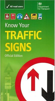 £6.69 • Buy LATEST DVSA DVLA OFFICIAL KNOW YOUR TRAFFIC SIGNS PAPERBACK BOOK 2020 Trfc *TRFC