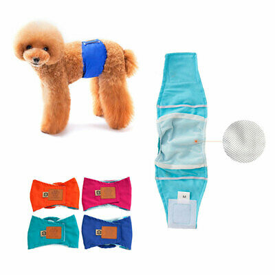 S-XL Male Dog Puppy Nappy Diapers Belly Wrap Band Sanitary Physiological Pants • 4.70£