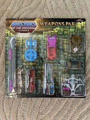 $45 • Buy Masters Of The Universe Classics Weapons Pack Ultimate Battleground Assortment