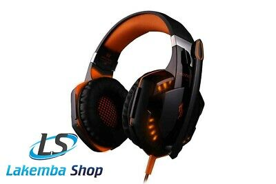 AU29.99 • Buy 3.5mm Gaming Headset MIC LED Headphones Surround For PC Mac Laptop PS4 Xbox One
