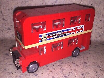$ CDN25.48 • Buy LEGO British Double Decker Red London England Bus Complete, No Box