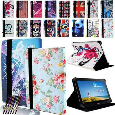 Folio Leather Stand Cover Case For 8  10  Huawei MediaPad M1 M2 M3 M5 M6 Tablet • 5.99£