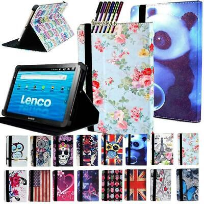 Leather Stand Cover Case For Lenovo Tab M8 M10 P10  E7 E8 E10 Tablet • 5.99£
