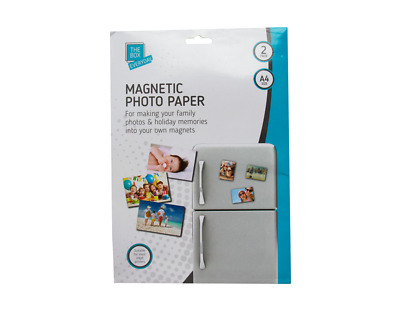 £2.39 • Buy Magnetic Photo Paper X 2 - Office Work Organise Work-from-home Job