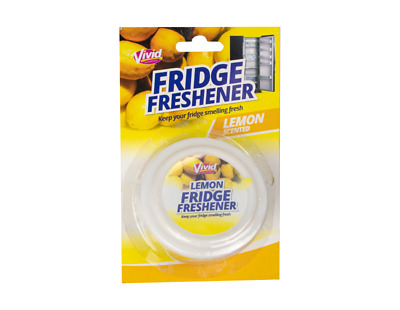 Lemon Fridge Freshener With Clip Strip • 4.69£