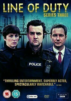 Line Of Duty: Complete 3rd Series Dvd Daniel Mays Brand New & Factory Sealed • 6.95£